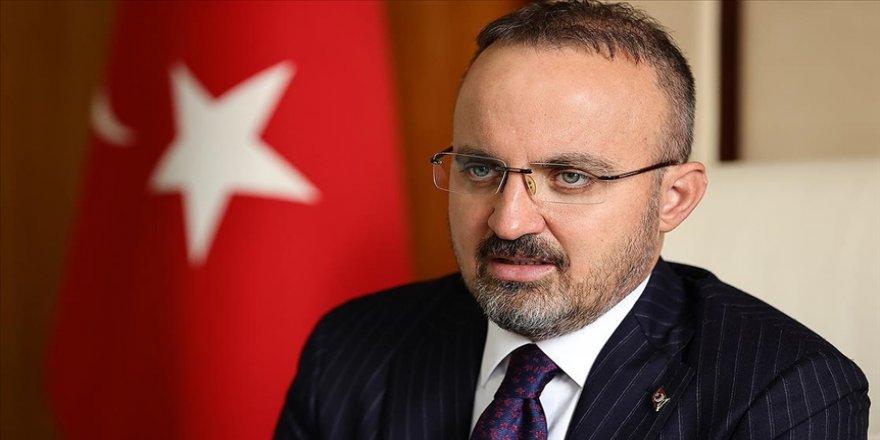 AK Parti Grup Başkanvekili Turan: Milletin değerlerine savaş açan darbeci ve vesayetçi zihniyete artık geçit yok