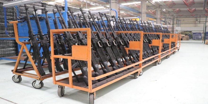 Yerli ve milli makineli tüfek 'SAR 762 MT' güvenlik güçlerinin destekçisi olacak