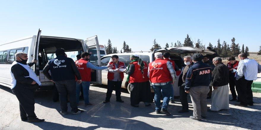 Türk STK'ler Barış Pınarı Harekatı bölgesinde insani yardımda bulundu
