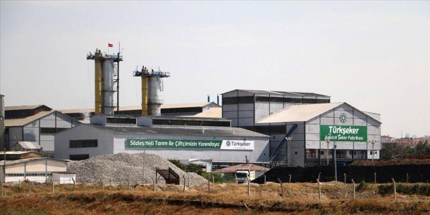 Ankara Şeker Fabrikası bu sezon 77 bin 500 tonluk şeker üretimiyle rekor kırdı