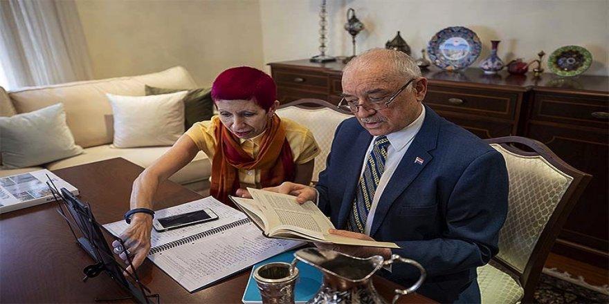 Paraguay'ın Ankara Büyükelçisi Valdez öğrenmeye devam ettiği Türkçeye ilgisini anlattı