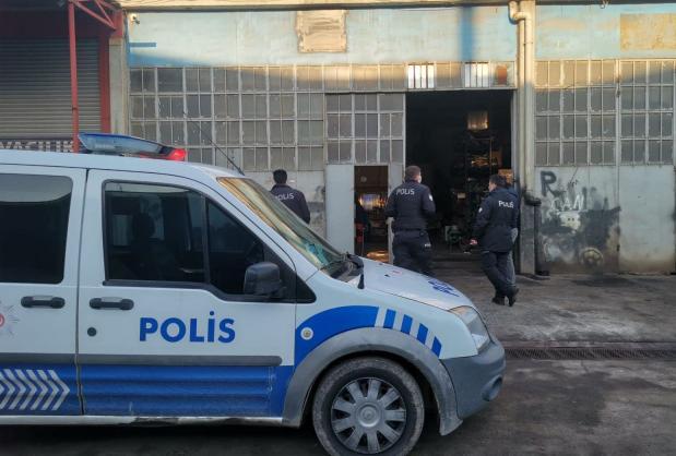 Sultan Orhan Mahallesi'nde sanayi sitesindeki iş yerlerinde hırsızlık olayı!