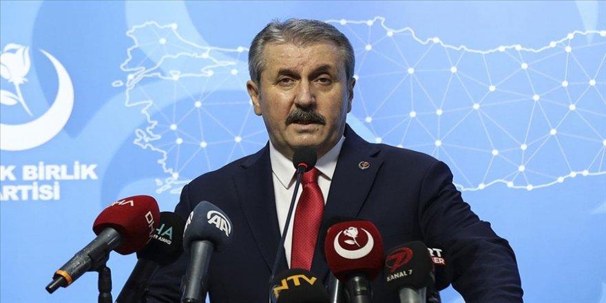 BBP Genel Başkanı Destici, Kontrollü Normalleşme sürecinin hayırlı olmasını diledi