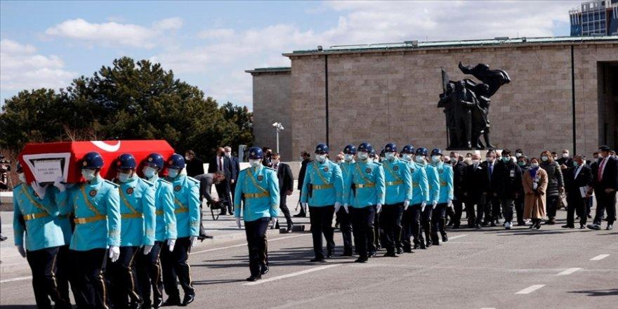 Eski Devlet Bakanı Kemal Akkaya için TBMM'de cenaze töreni düzenlendi
