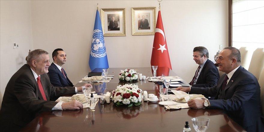 Dışişleri Bakanı Çavuşoğlu, BM Libya Özel Temsilcisi Kubis'le bir araya geldi