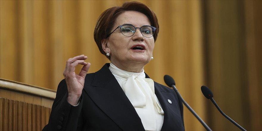 İYİ Parti Genel Başkanı Akşener: İYİ Parti, Türk yargısının hazırladığı fezlekeye bakar, gereği neyse onu yapar