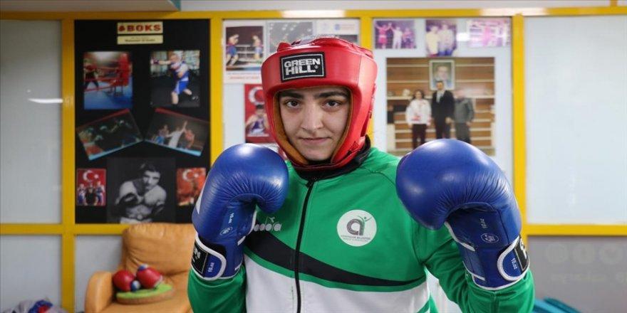 Avrupa birincisi milli boksör Ece'nin hedefi dünya şampiyonluğu