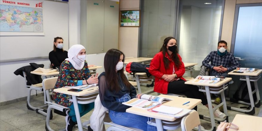 Saraybosna'da salgın döneminde de Türkçeye ilgi devam ediyor