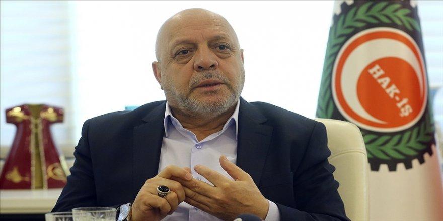 Hak-İş Genel Başkanı Mahmut Arslan'dan yeni anayasaya destek açıklaması