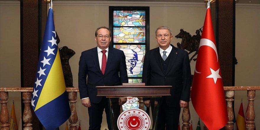 Türkiye ile Bosna Hersek arasında Askeri Mali İşbirliği Anlaşması imzalandı