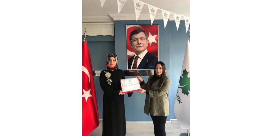 Gelecek Partisinde Sefa Sirmen'in yeğeni gençlik kolları başkanı oldu
