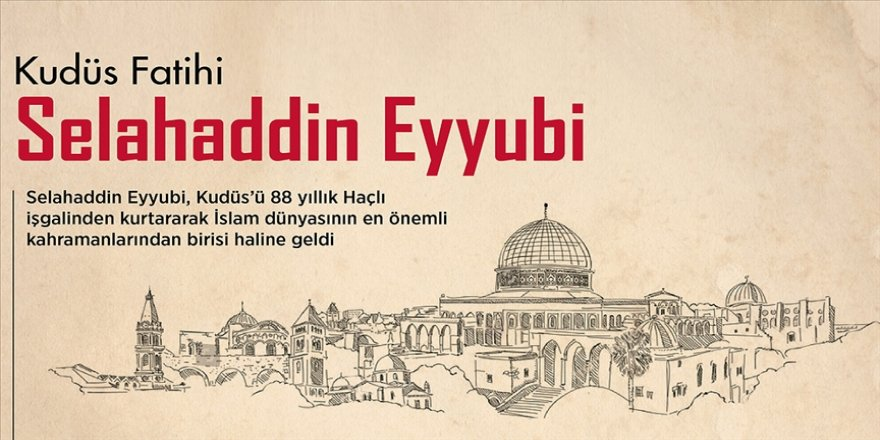 Kudüs Fatihi Selahaddin Eyyubi'nin vefatının üzerinden 828 yıl geçti
