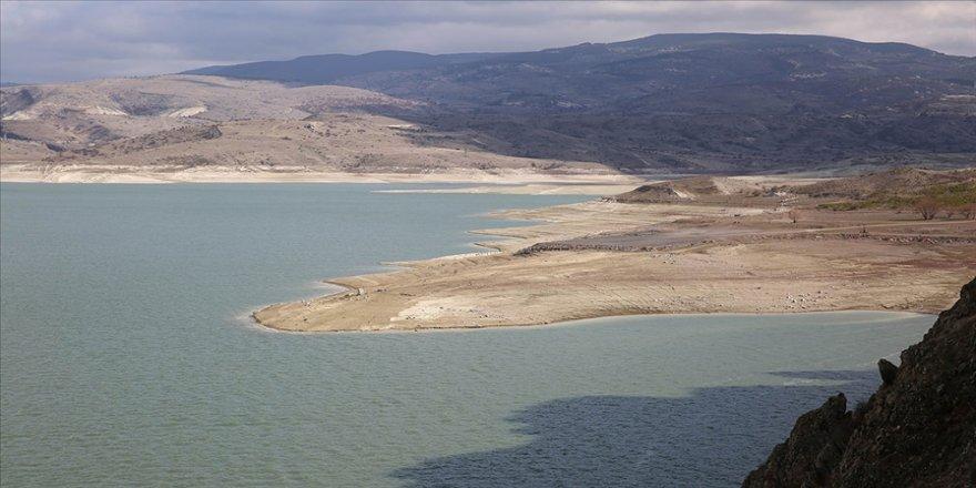 Başkentteki barajlarda geçen yılın aynı dönemine göre 50 milyon metreküp daha az su bulunuyor