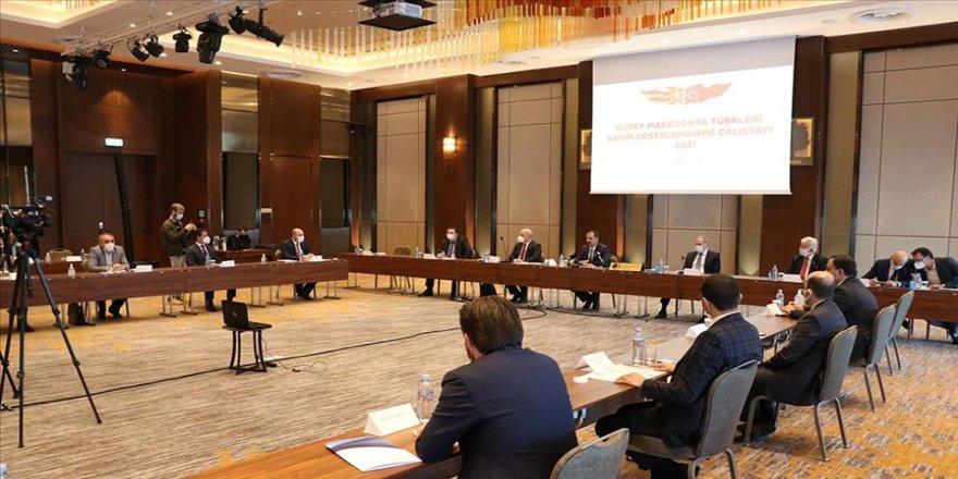 Üsküp'te 'Kuzey Makedonya Türkleri Sayım Değerlendirme Çalıştayı' düzenlendi