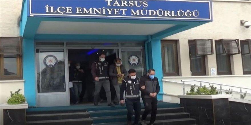 Mersin merkezli 8 ilde düzenlenen dolandırıcılık operasyonunda 28 kişi yakalandı