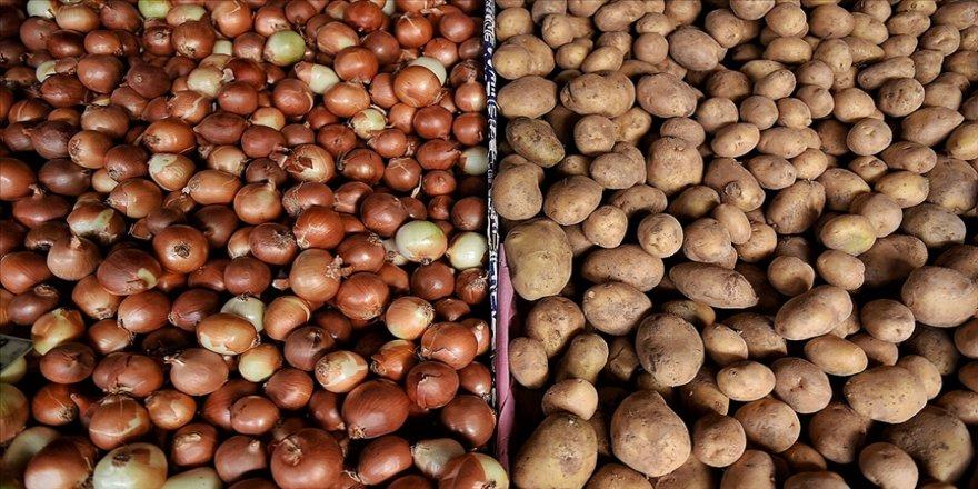 Türkiye geçen yıl 124 bin ton patates, 220 bin ton soğan ihraç etti