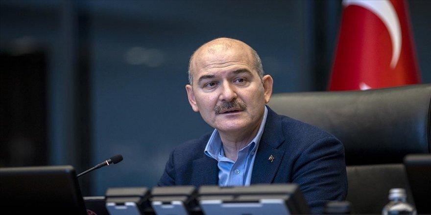İçişleri Bakanı Soylu Iğdır'da güvenlik toplantısına katıldı