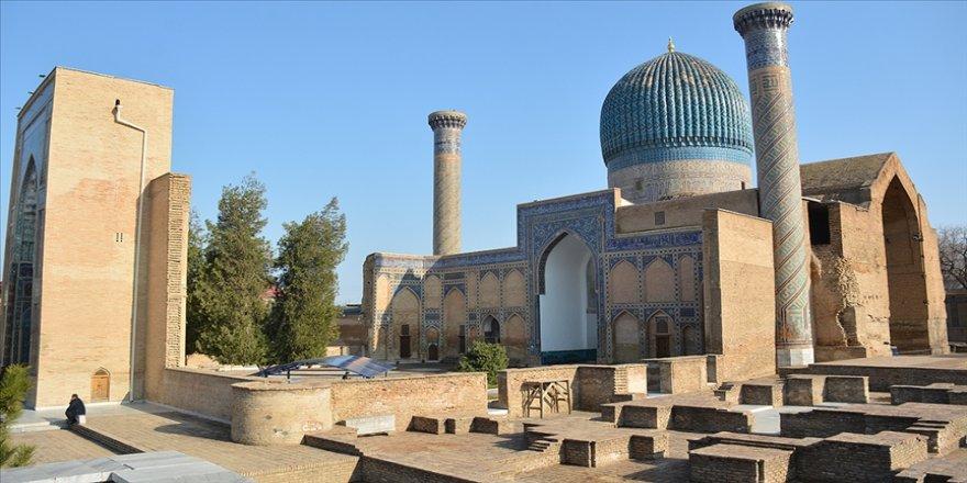 Türkiye'nin Özbekistan'da ilk başkonsolosluğunu açacağı Semerkant'ta Türk-İslam medeniyetinin önemli eserleri bulunuyor