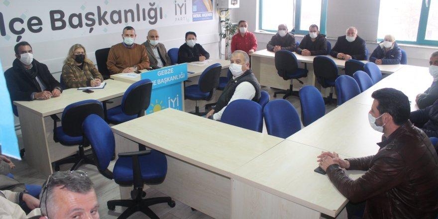 Meral Akşener'i Gebze'de en iyi şekilde ağırlayıp halkla buluşturacaklar