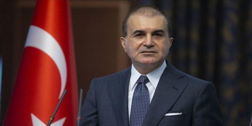 AK Parti Sözcüsü Çelik: Bu eylemi gerçekleştiren şahsın en yüksek cezayı alması hepimizin temennisidir