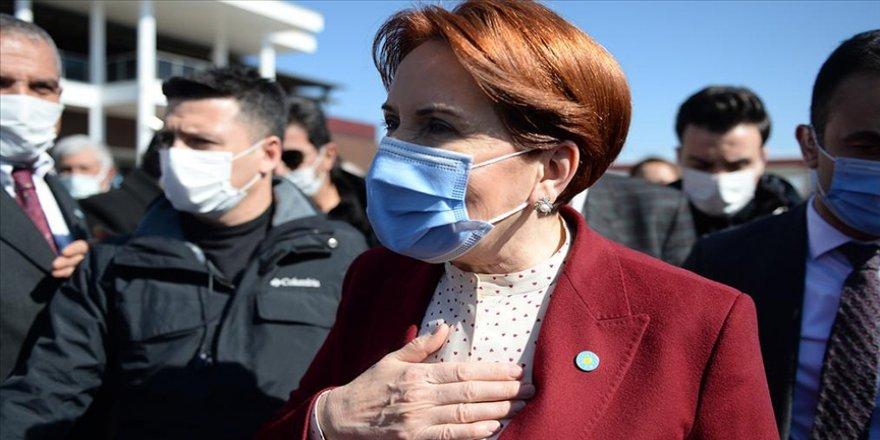 Akşener, İmamoğlu'nun kendisi ile HDP'li Pervin Buldan'ı etiketleyerek Dünya Kadınlar Günü'nü kutlamasını değerlendirdi