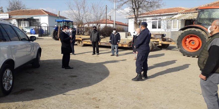 Edirne'de vaka sayısı artan İpsala ilçesinde virüsle mücadelede 'seferberlik' başlatıldı