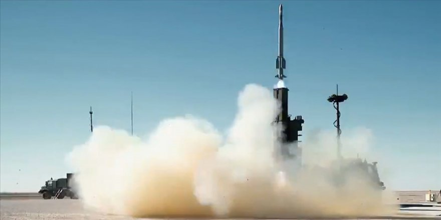 HİSAR-O+ füzesi son atışta en uzak menzil ve en yüksek irtifadan hedefini vurmayı başardı