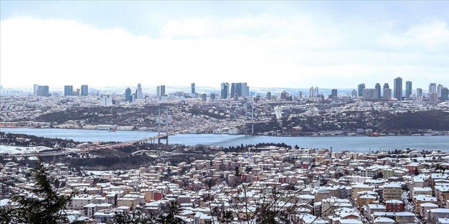 İstanbul'da çarşamba akşam saatlerinden itibaren karla karışık yağmur bekleniyor