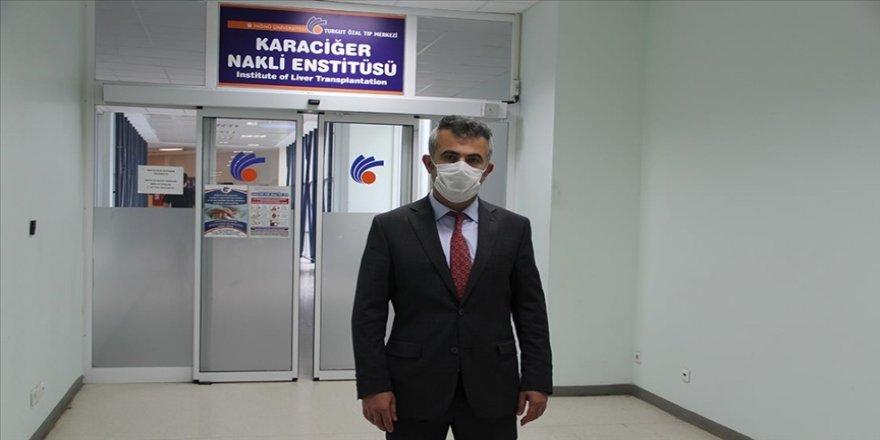 Turgut Özal Tıp Merkezi Karaciğer Nakli Enstitüsü salgın sürecinde de hastalara şifa oluyor