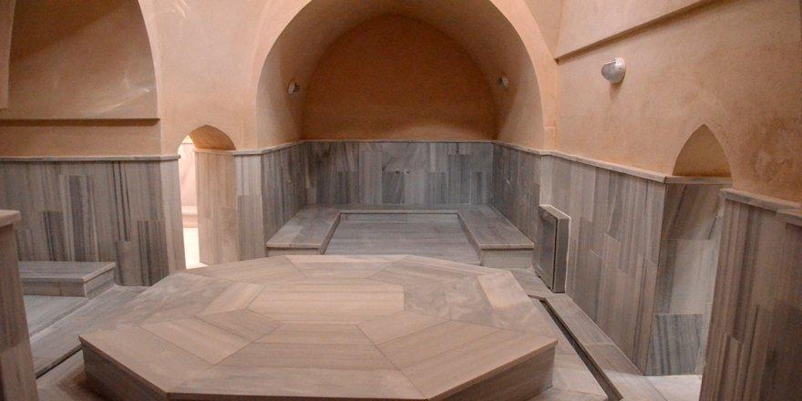 Restorasyonunda sona yaklaşılan 600 yıllık 'Hatun Hamamı' mayısta yeniden kapılarını açacak