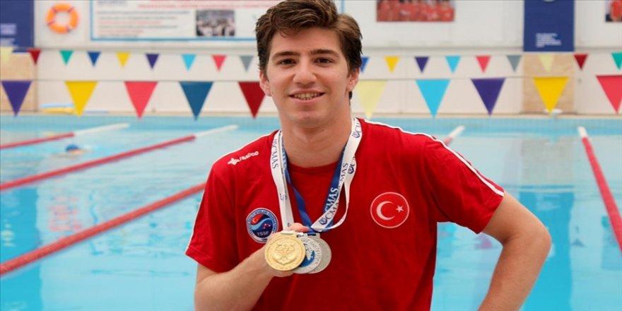 Milli yüzücü Derin Toparlak gözünü dünya şampiyonluğuna dikti
