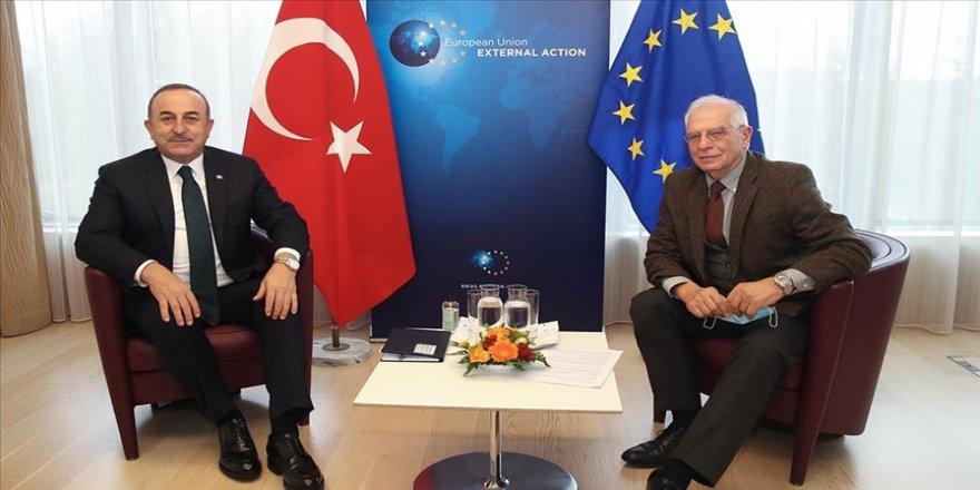 Çavuşoğlu: Borrell ile pozitif gündemi devam ettirmek için birlikte çalışacağız