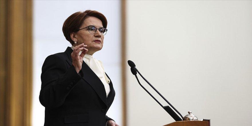 İYİ Parti Genel Başkanı Akşener: Bu günler elbette geçecek
