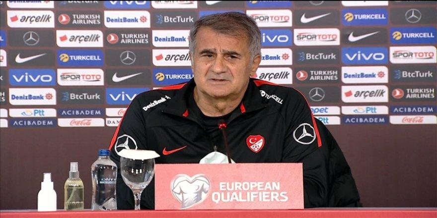 A Milli Futbol Takımı Teknik Direktörü Şenol Güneş: İlk maçımızı son maçımız gibi oynayacağız