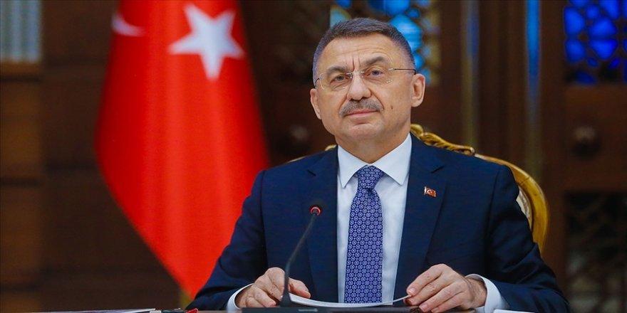 Cumhurbaşkanı Yardımcısı Oktay, TÜBİTAK, TÜSEB ve TİTCK başkanlarını kabul etti