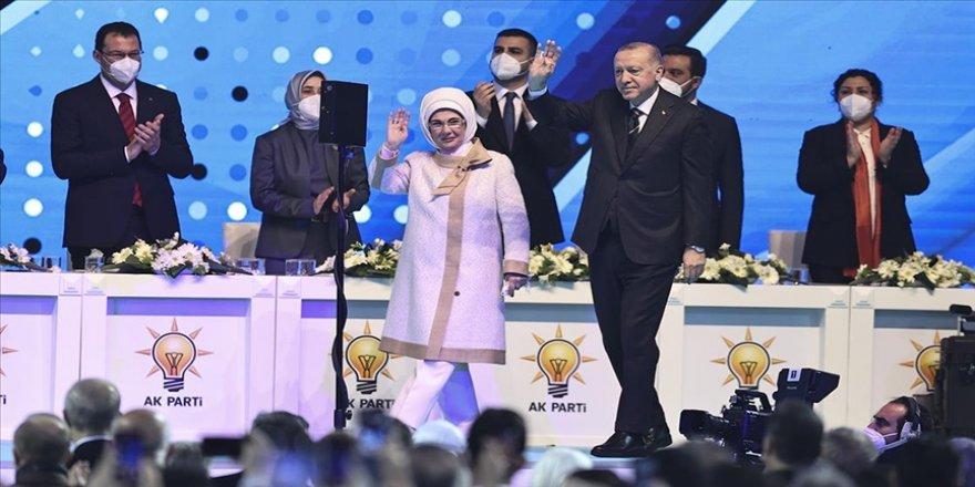 AK Parti 7. Olağan Büyük Kongresi Ankara Spor Salonu'nda geçekleştiriliyor