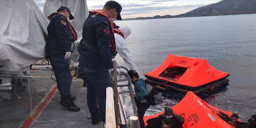 Türkiye son bir ayda kara sularına geri itilen 468 sığınmacıyı kurtardı