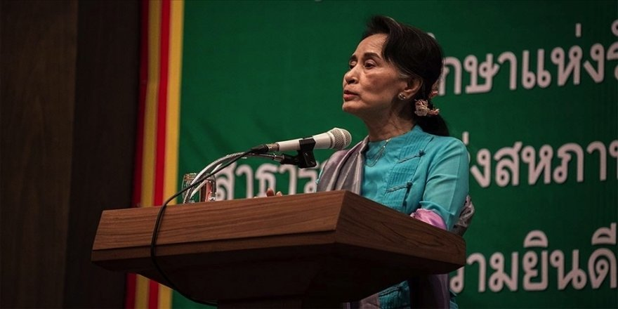 Myanmar'ın devrik lideri Suu Çii'nin gözaltı süresi 1 Nisan'a kadar uzatıldı