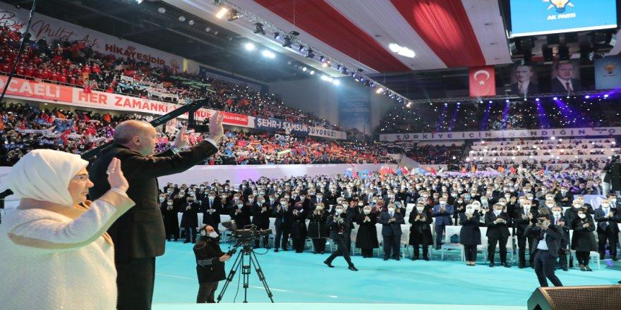 Erdoğan: Türkiye'yi önce 2023 hedeflerine, ardından da 2053 vizyonuna Cumhur İttifakı'yla kavuşturacağız