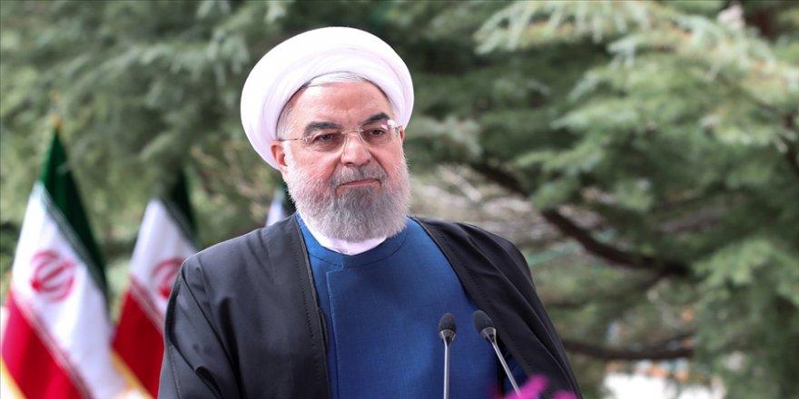 İran Cumhurbaşkanı Ruhani: Yaptırımların kalkması için bir dakikayı dahi kaçırmayacağız