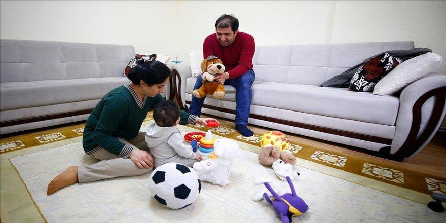 Fas uyruklu 8 aylık Sam Özdemir çifti sayesinde aile sıcaklığına kavuştu