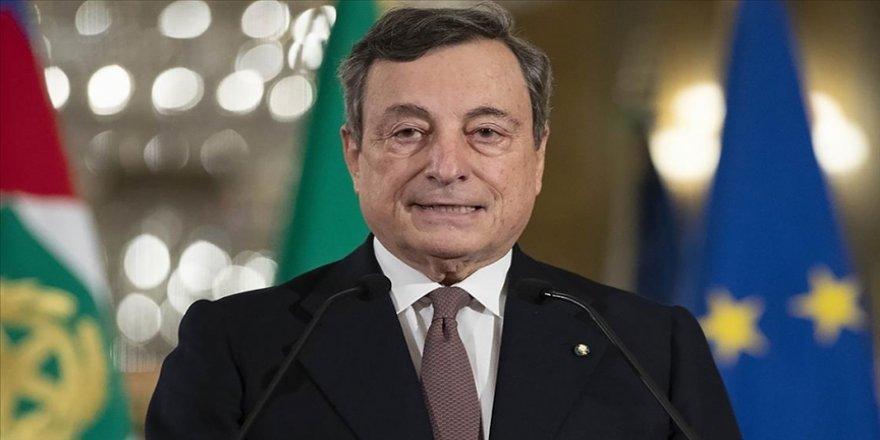 İtalya Başbakanı Draghi'den Türkiye-AB ilişkilerinde 'olumlu gündeme' odaklanma çağrısı