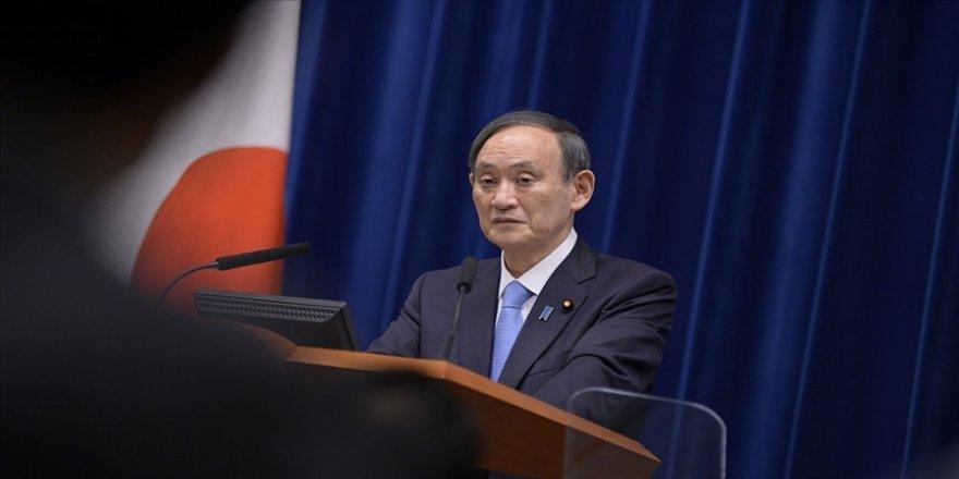 Japonya Başbakanı Suga, Kuzey Kore'nin Japon Denizi'ne iki füze fırlattığını açıkladı