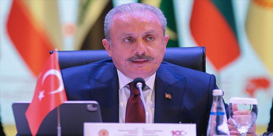 TBMM Başkanı Şentop: Ülkelerimiz arasında ve bölgemizde her alanda iş birliğine hazırız