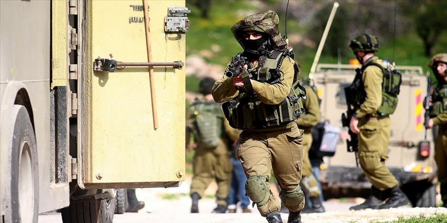 İsrail'de Filistinlilerin yaşadığı beldede ırkçı saldırı