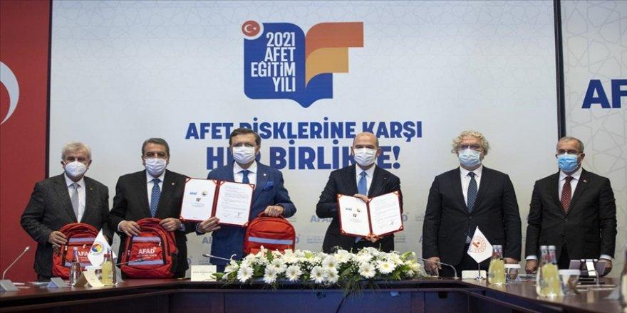 AFAD ile TOBB, TZOB ve TİSK arasında iş birliği protokolü imzalandı