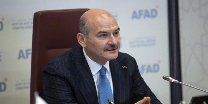 İçişleri Bakanı Soylu: Hiçbir afet sonrasında vatandaşımıza 'Nerede bu devlet?' dedirtmedik