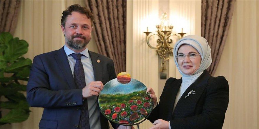 Emine Erdoğan, 'Sıfır Atık Projesi'ne desteği için UNDP Türkiye'ye teşekkür etti