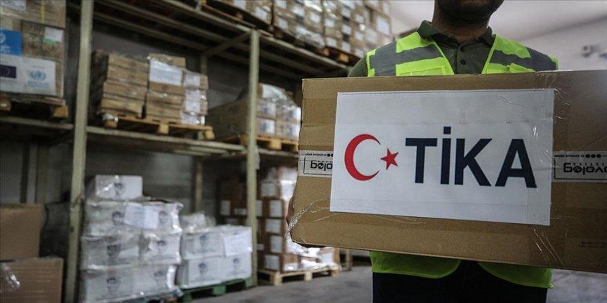 TİKA'dan Gazze'de hükümet kurumları ile halka yönelik projelere destek