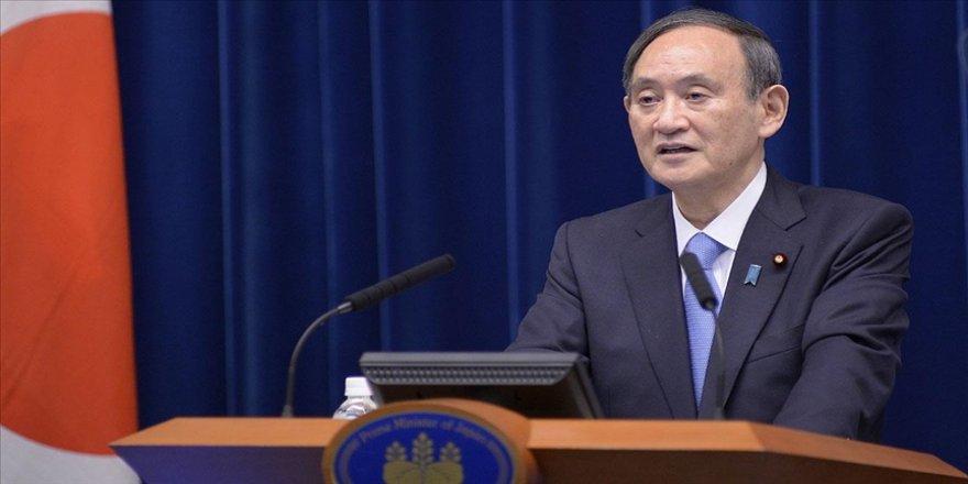 Japonya Başbakanı Suga'dan meşalesi yakılan Tokyo Olimpiyatları için 'kararlılık' vurgusu